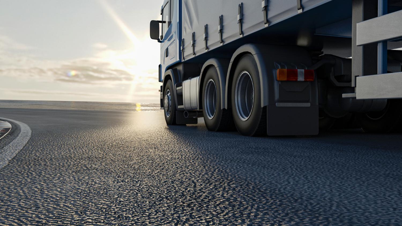transporteffect vrachtwagen
