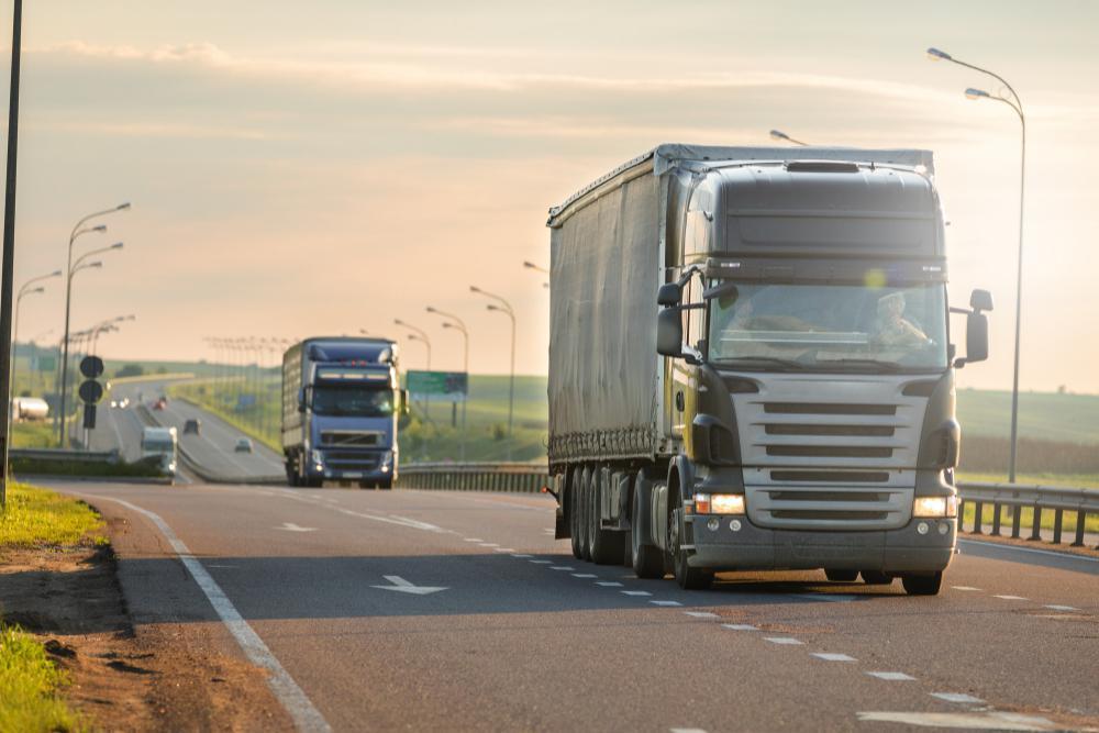 Transporteffect truckrun