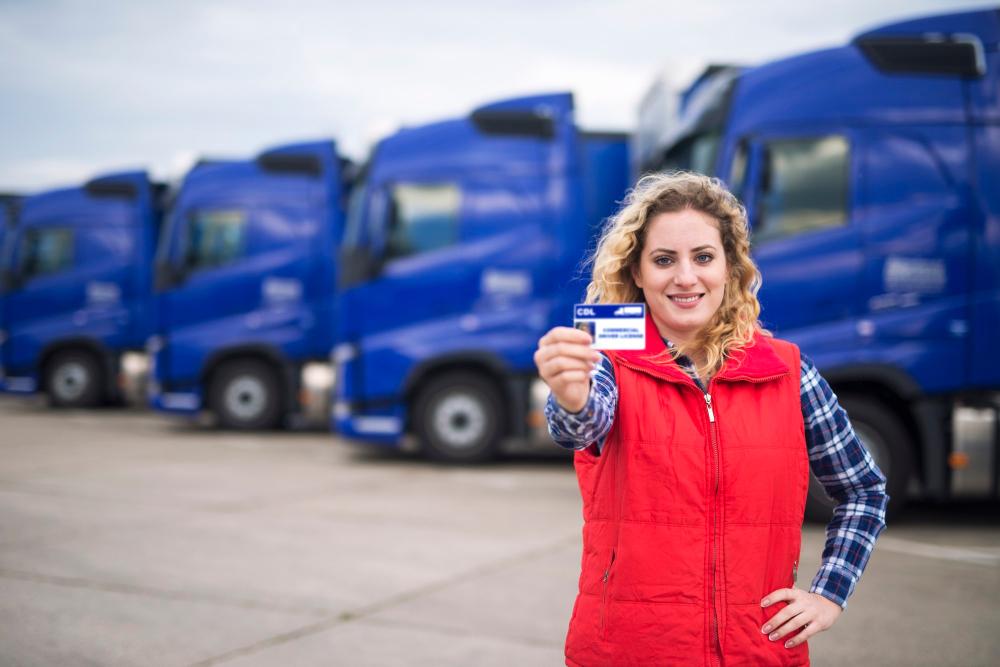 Transporteffect Logistiek en chauffeuses