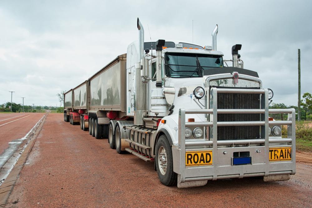 transporteffect road train