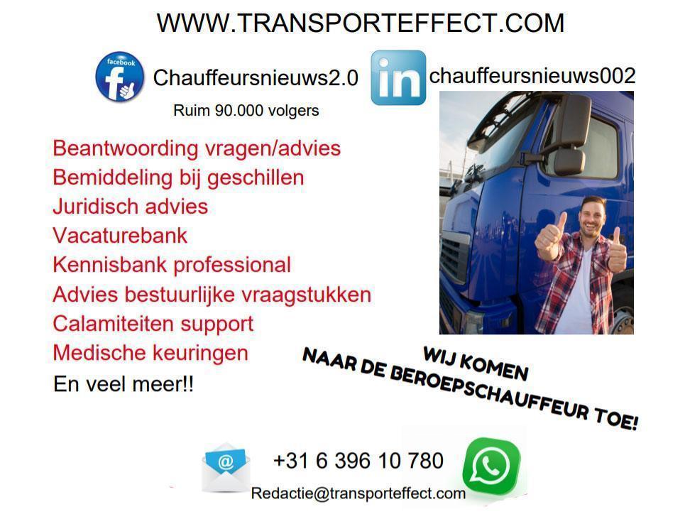 Campagne Chauffeursnieuws Transporteffect 242