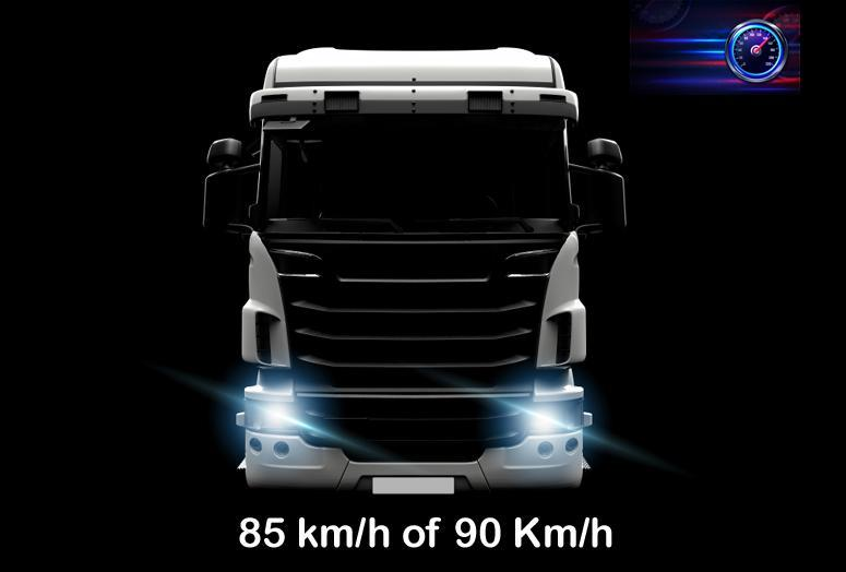 transporteffect 85 km/h