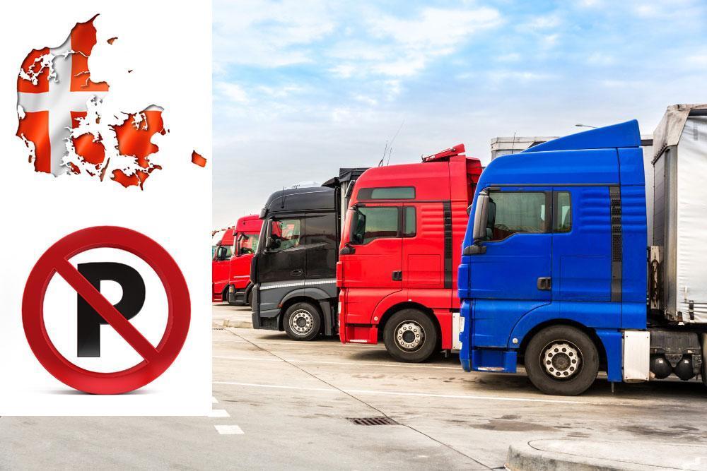 Denemarken moet naar de rechter vanwege parkeerbeperkingen voor vrachtwagens