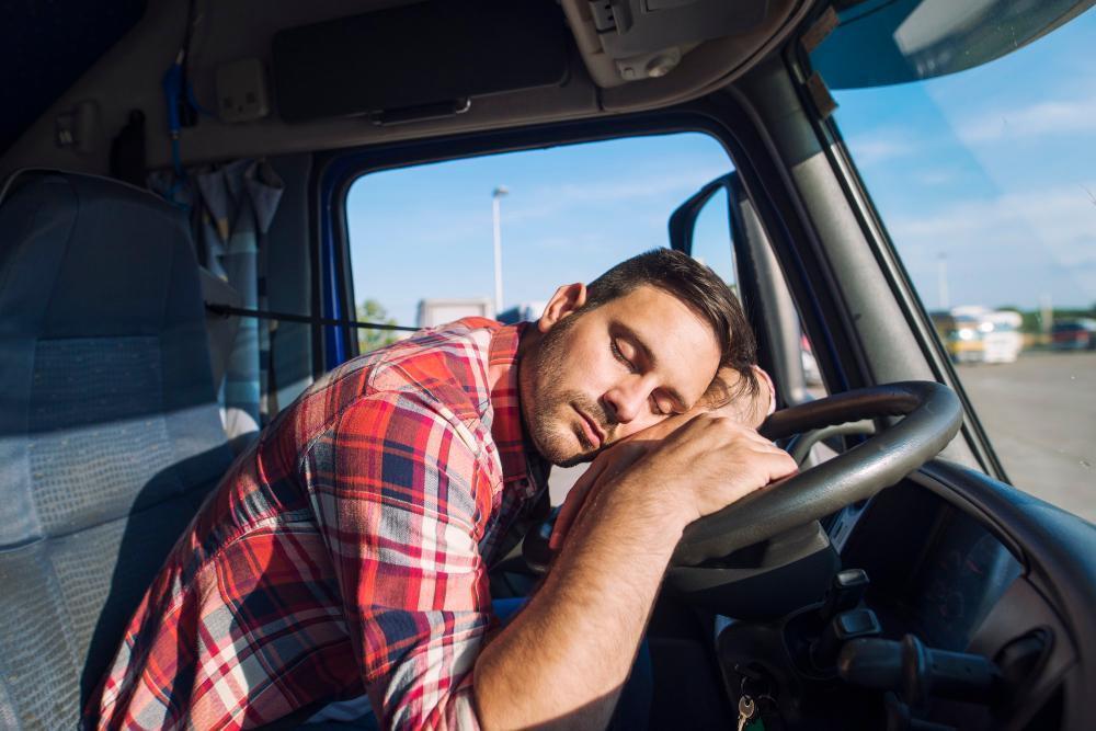 Transporteffect slapen