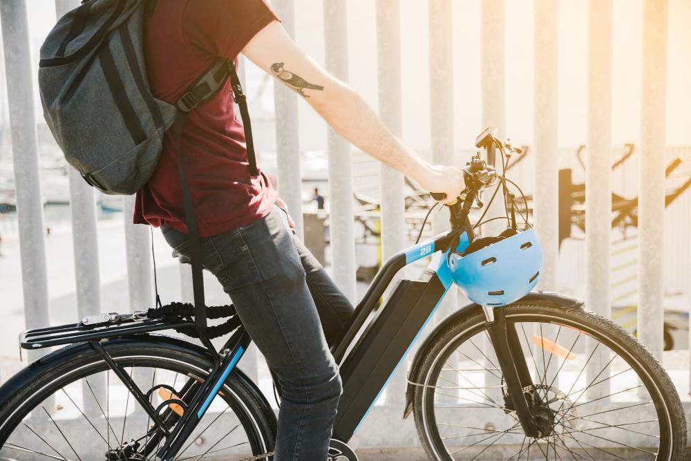 e-bike transporteffect