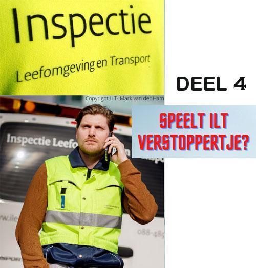 Speelt de ILT verstoppertje in het transport? Deel 4