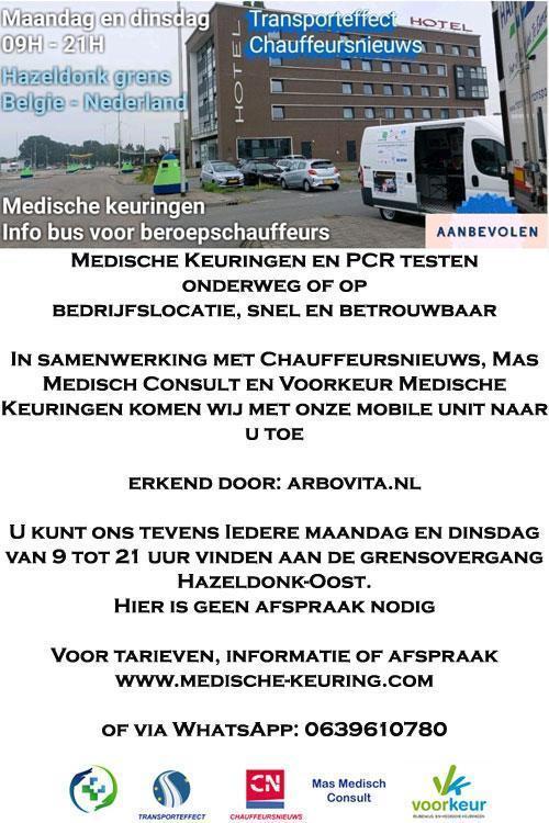 medische keuring Transporteffect