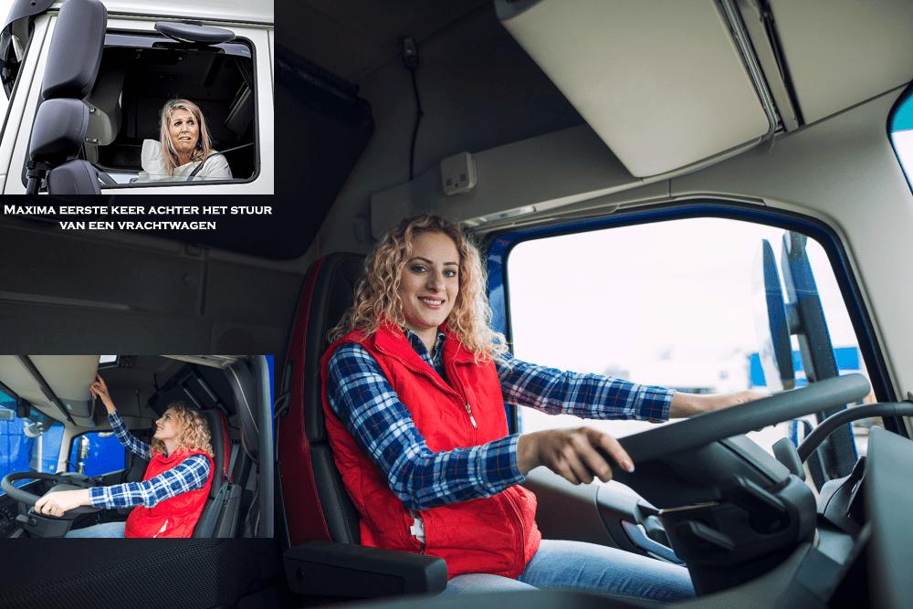 vrouwen achter het stuur