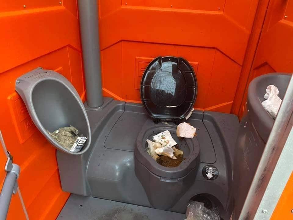 smerig toilet