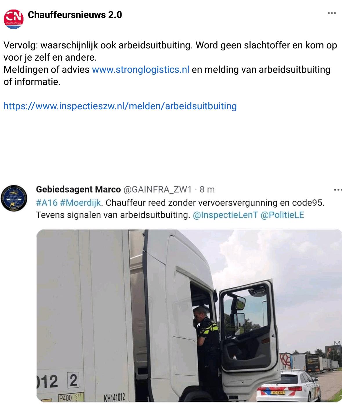 Transporteffect Arbeidsuitbuitig